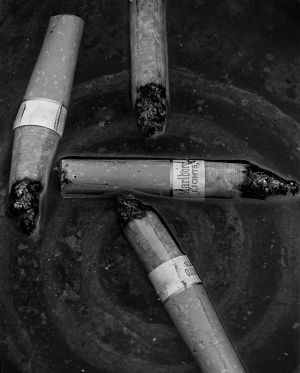 Cigarettes in Water